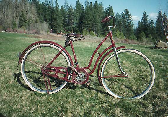 1920 S Emblem Ladies Picture 1 Dave S Vintage Bicycles