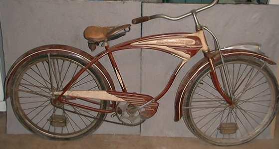 fcad40bf452 1947 BF Goodrich Streamliner - Dave's Vintage Bicycles