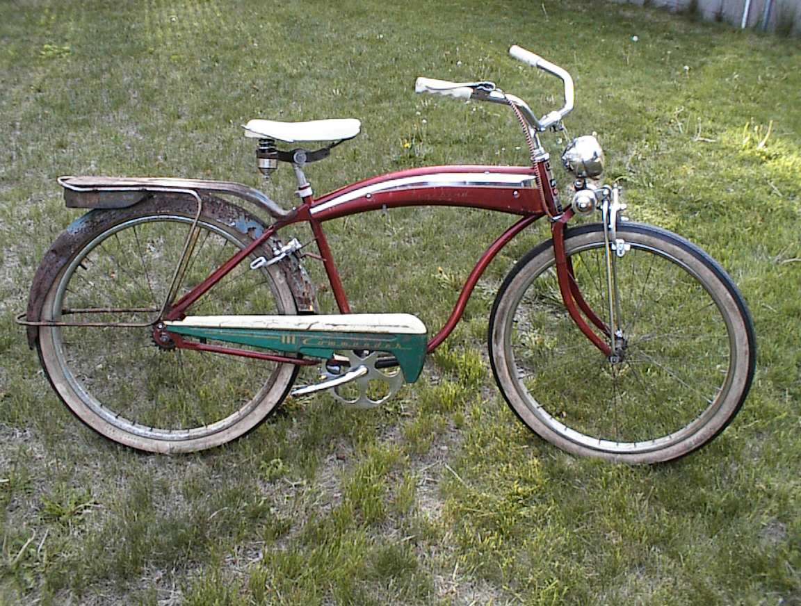1954 55 Evans Colson Firebird Dave S Vintage Bicycles