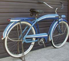Firestone Super Cruiser Bicycle http://www.nostalgic.net/bicycle173
