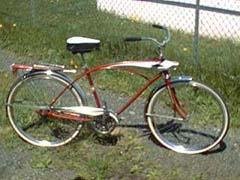 1958 1963 sears j c higgins flightliner dave s vintage bicycles