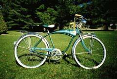 1961 Schwinn Jaguar green.jpg
