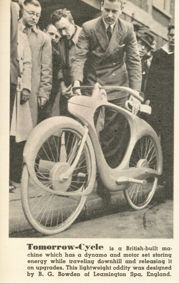 1946 Bowden Spacelander Prototype Dave S Vintage Bicycles