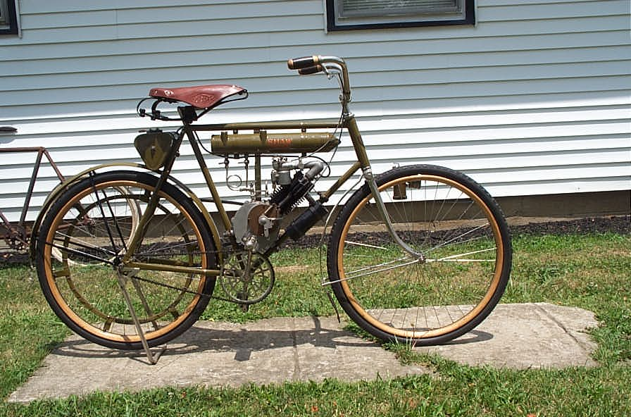 1917 21 Harley Davidson Tall Frame With Shaw Engine Picture 1