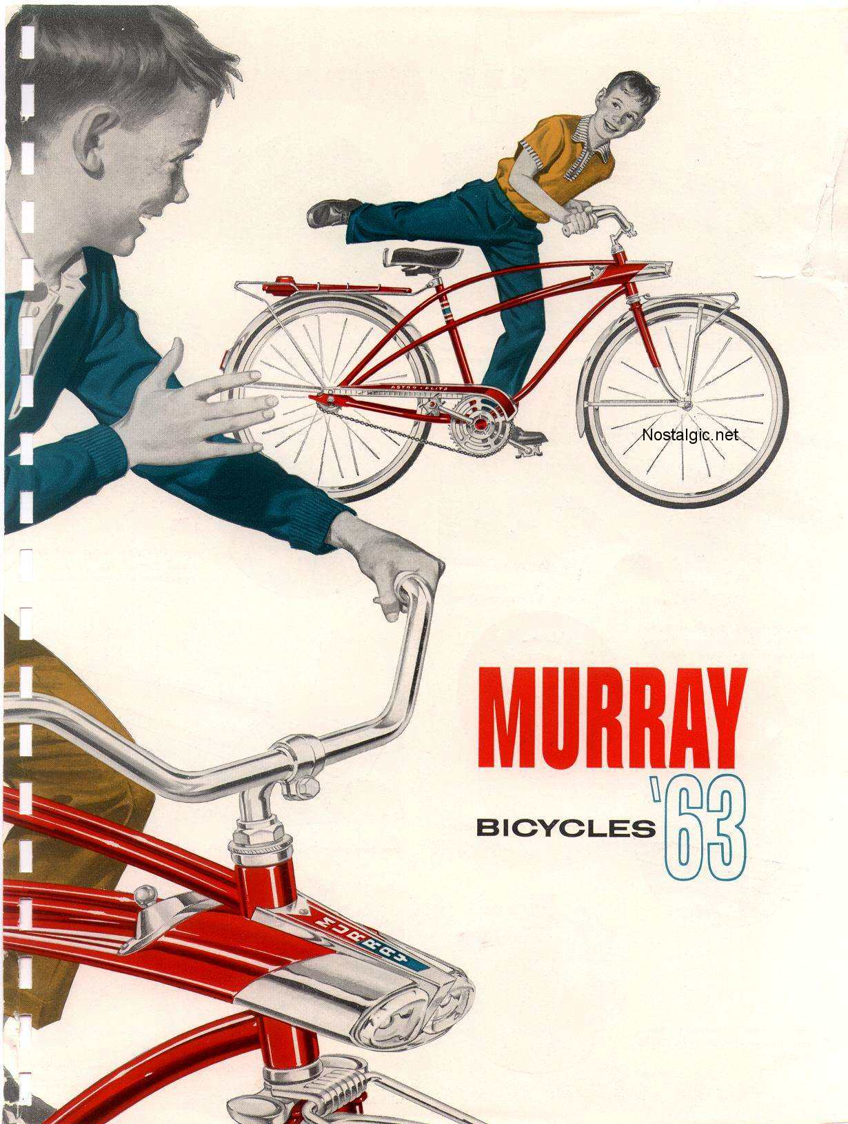 1963 Murray Catalog - Dave's Vintage Bicycles