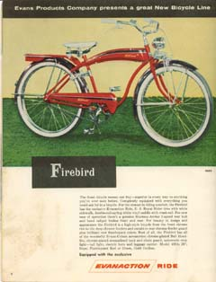 1954 Evans Colson Catalog Dave S Vintage Bicycles