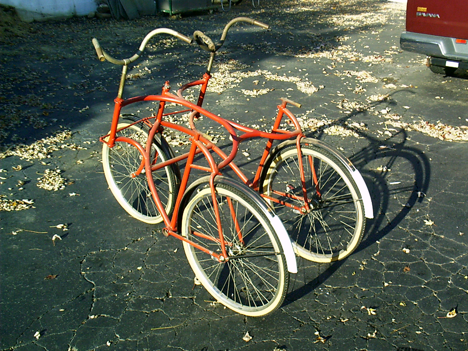 1890's Wolff American Side by Side Tandem - Dave's Vintage