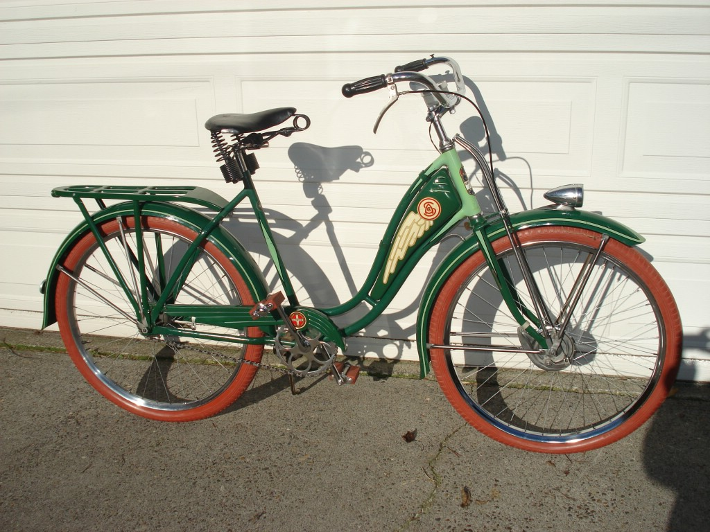5e8d5792443 1937 Schwinn Hollywood - Dave's Vintage Bicycles