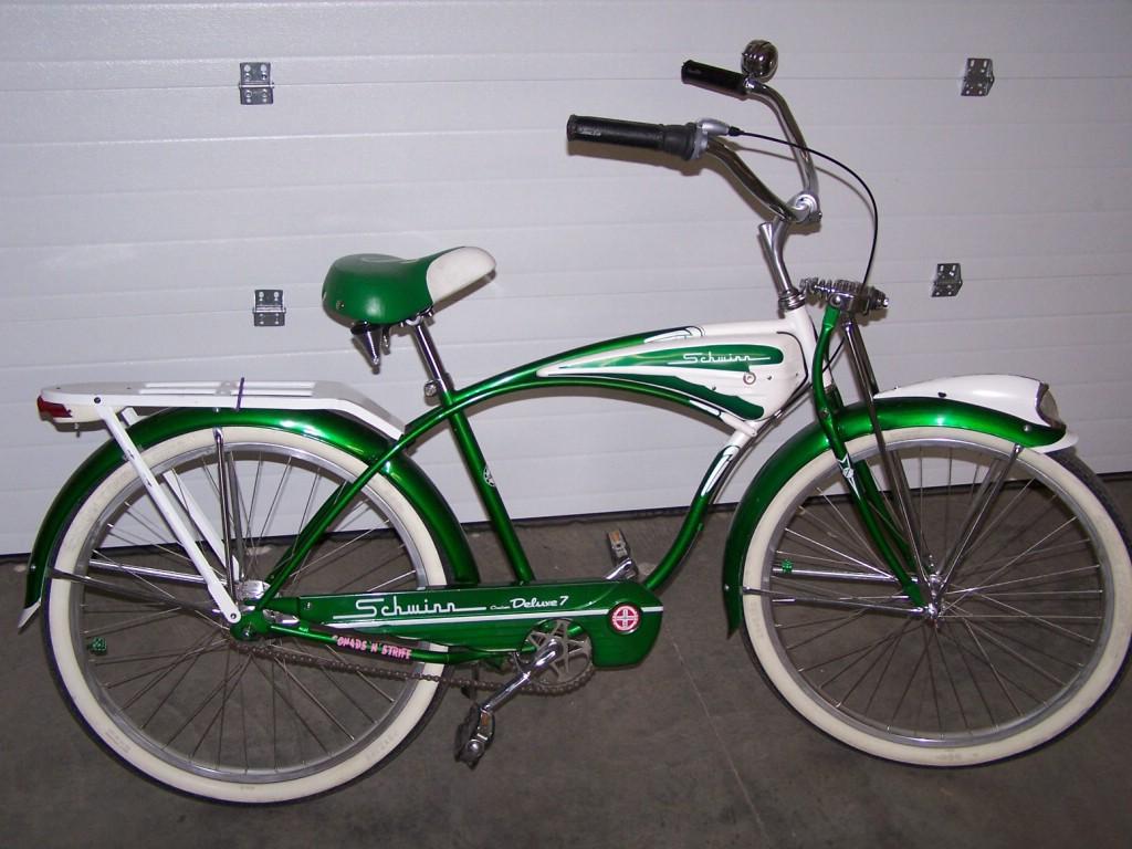 1995 Schwinn Cruiser Deluxe 7 - Dave's Vintage Bicycles