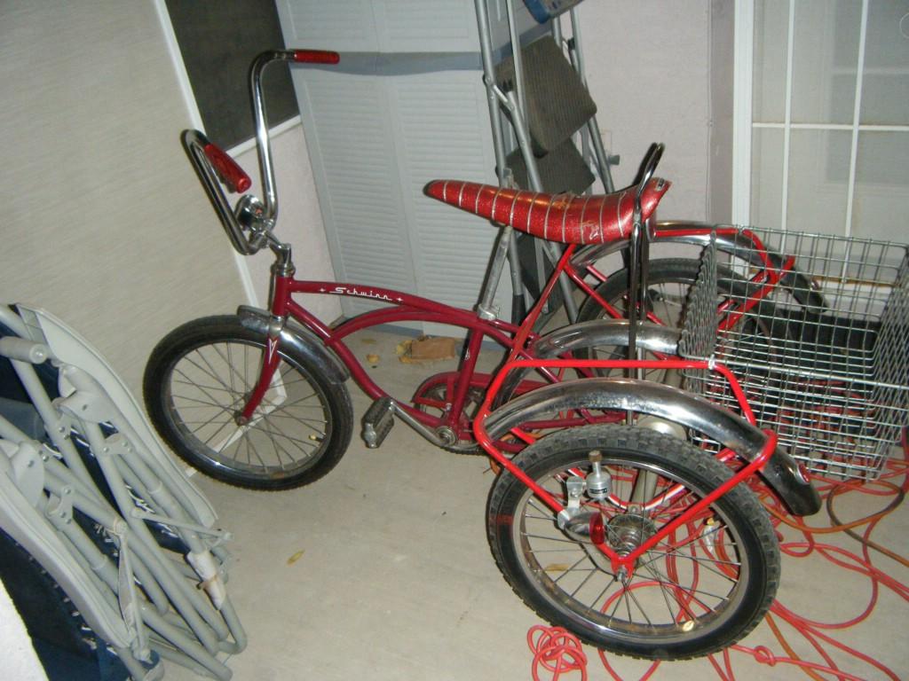 Schwinn Tricycle Parts : Schwinn stingray trike picture dave s vintage