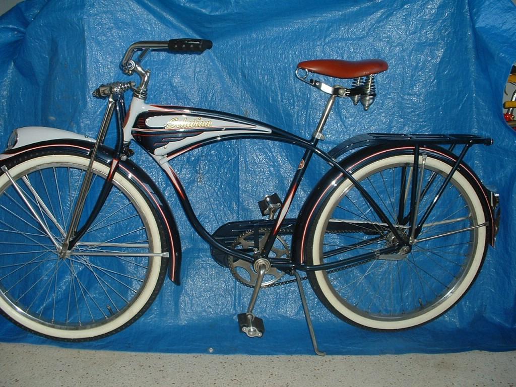 1951 Schwinn B6 Picture 1 Dave S Vintage Bicycles