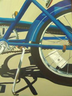 bicycle paintings/85311-blue_bicycle_with_shadow.jpg