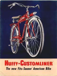 1955 Huffy Customliner Catalog Dave S Vintage Bicycles
