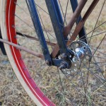 "Monark 4-bar - Musselman ""Olympic"" high-flange hub"