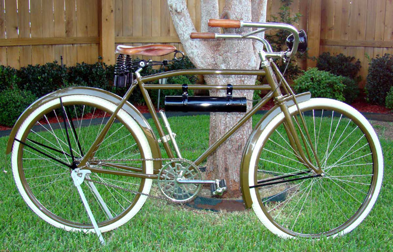 Restoration Of A 1918 Harley Davidson Bicycle Part 1