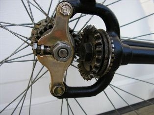 1900's Crescent Shaft-Drive - Dave's Vintage Bicycles