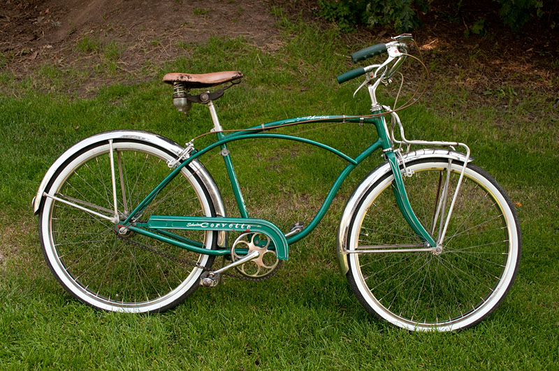1955 Schwinn Corvette 3 Speed Dave S Vintage Bicycles