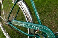 My 1955 Schwinn Corvette - decal detail