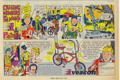 ad - 1969 Iverson comic