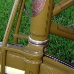 Harley Davidson paint detail