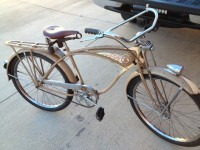 1939 Schwinn Cantilever Autocycle - right