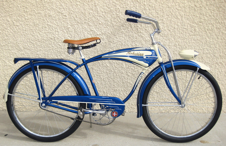 1954 Schwinn Streamliner Dave S Vintage Bicycles