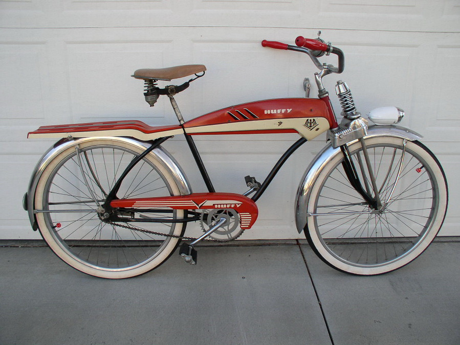 1953 Huffy Dial A Ride Dave S Vintage Bicycles