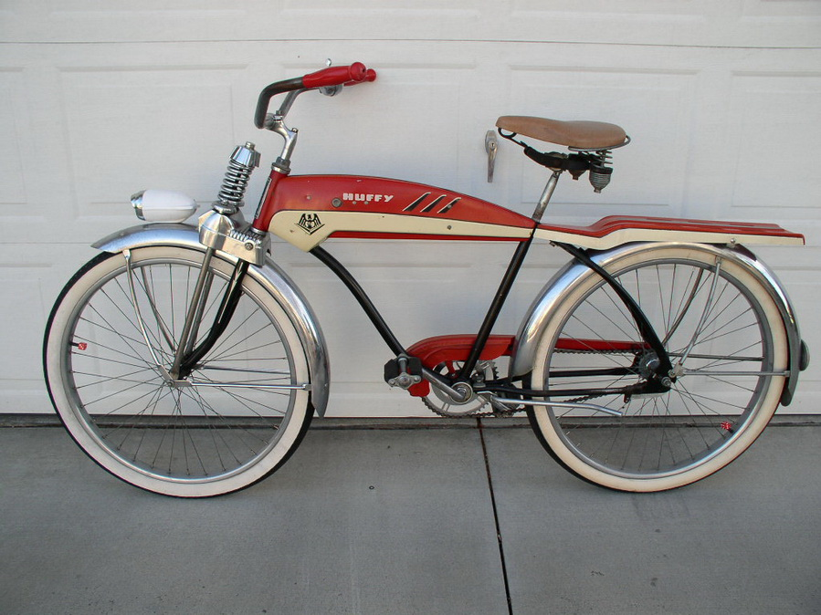1953 Huffy Dial A Ride - Dave's Vintage Bicycles
