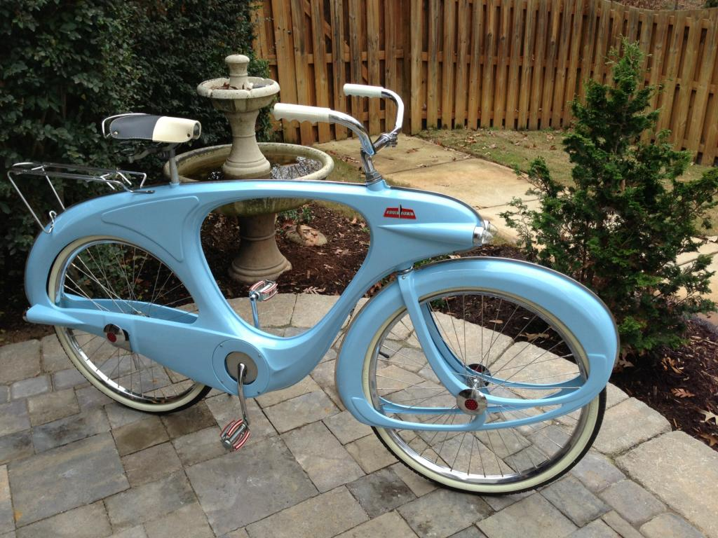 1960 Bowden Spacelander In Blue Dave S Vintage Bicycles