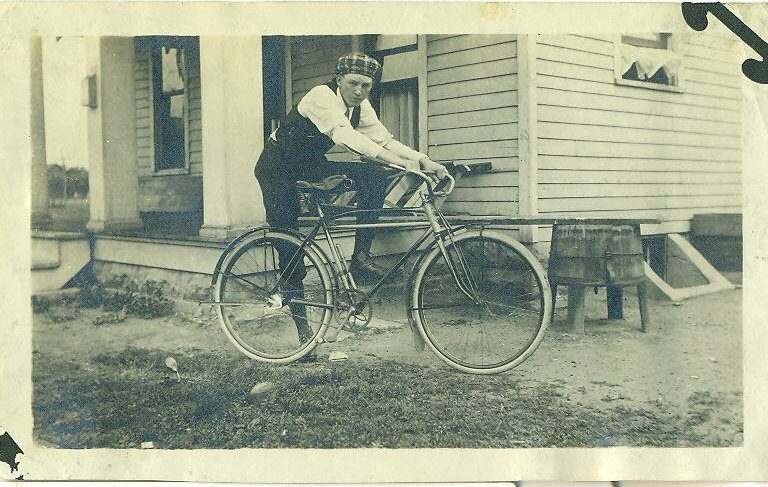 Sears Chief Bicycle photograph