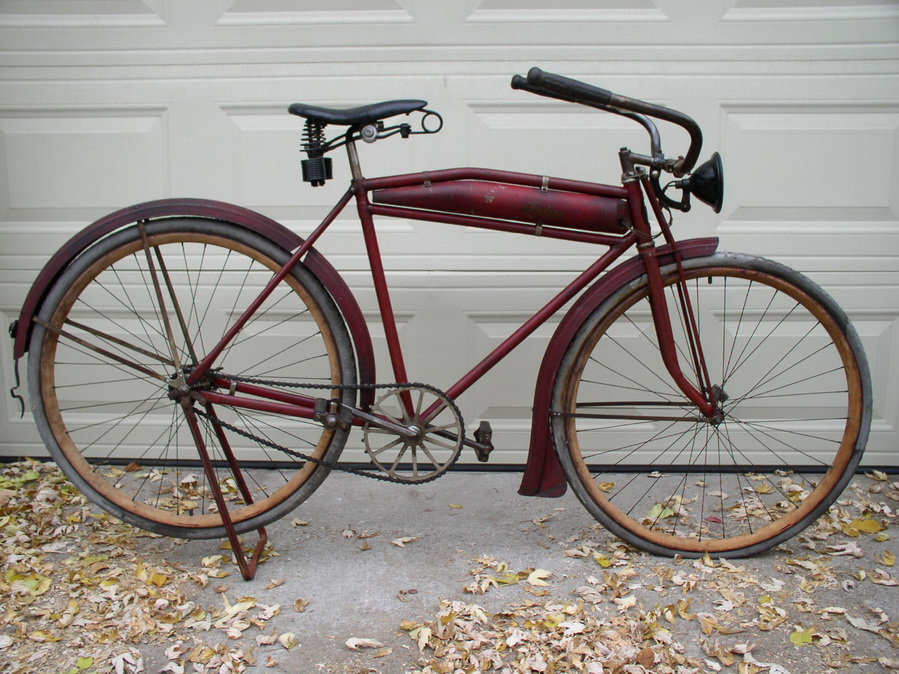 1916 Indian Motobike - Dave\'s Vintage Bicycles
