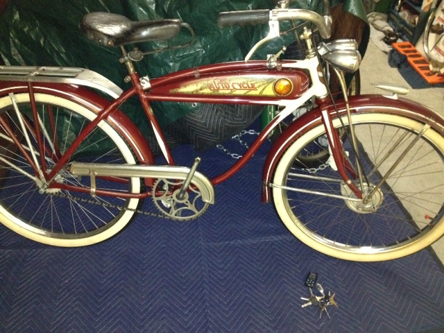 1937 Schwinn Autocycle With Jewel Tank Dave S Vintage