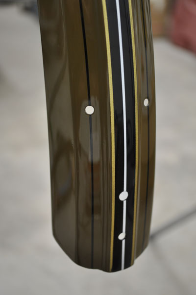 Fender striped