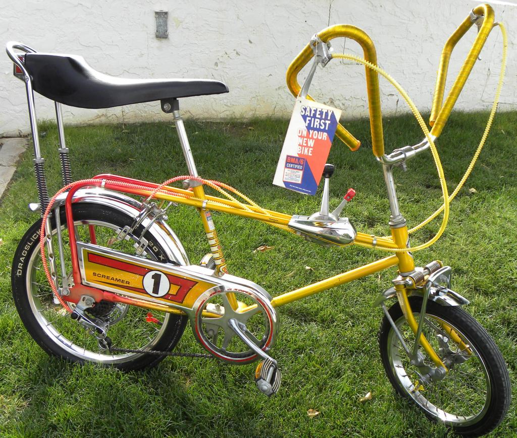 1971 murray built sears screamer   dave s vintage bicycles