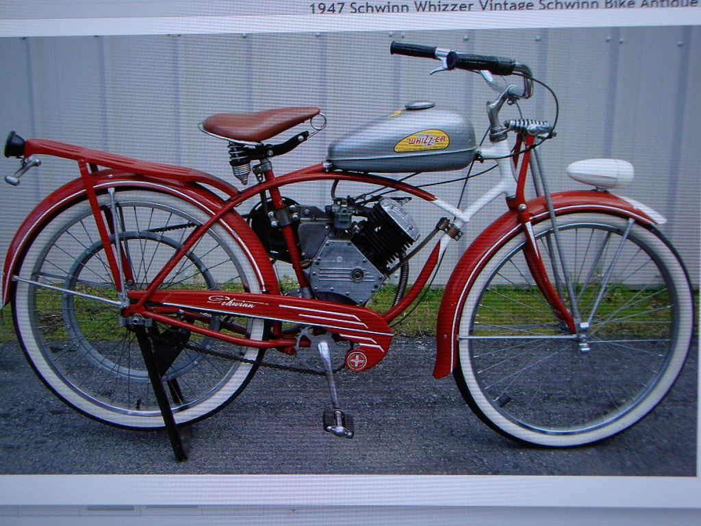 1948 Schwinn based Whizzer - Dave's Vintage Bicycles