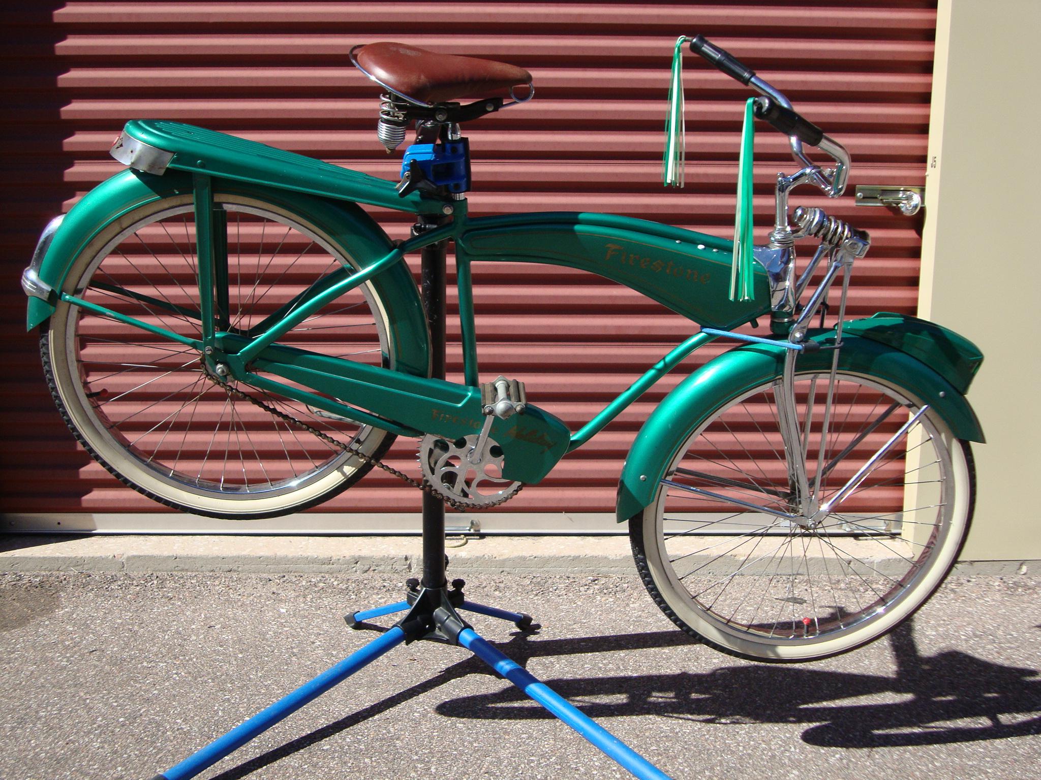 1951Monark built Firestone Holiday - Dave's Vintage Bicycles