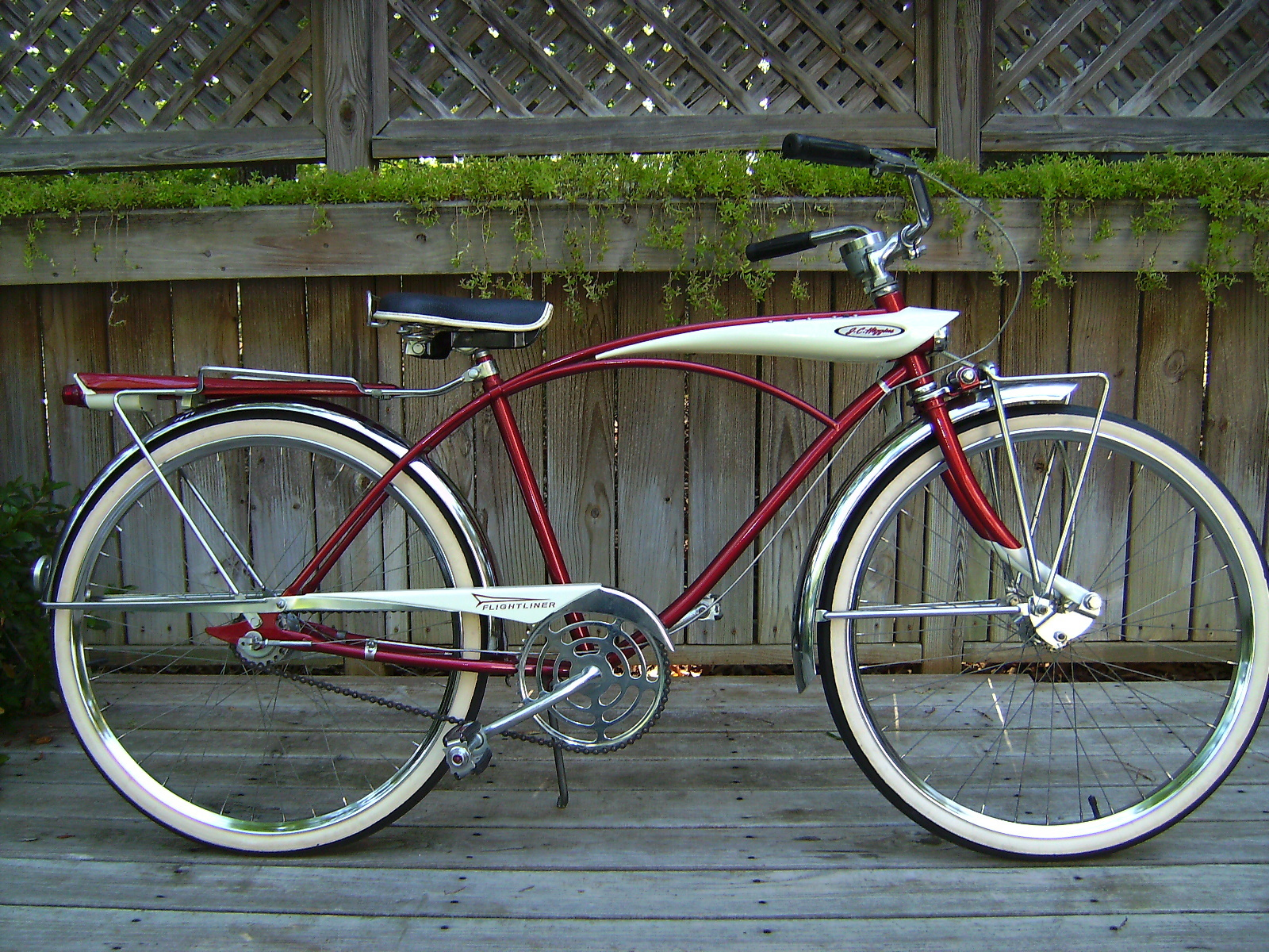 1958 J C Higgins Flightliner Dave S Vintage Bicycles