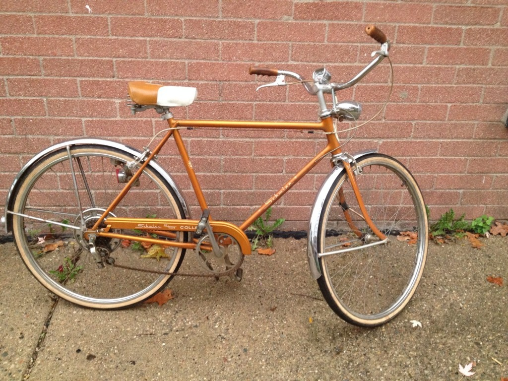 1968 Schwinn Collegiate Deluxe - Coppertone 01