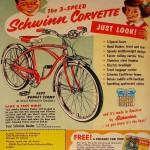 ad - 1956 Schwinn Corvette